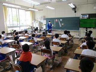 4月14日(水) 交通安全教室